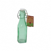 Kilner Clip Top Green Bottle 250ml